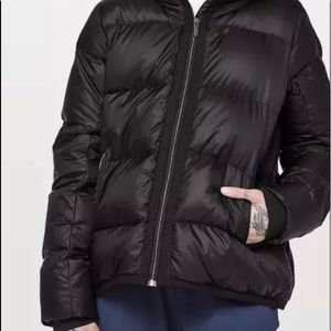 🍋 NWT -Lululemon Cloudscape Black Jacket size -12